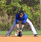 PORT ST. LUCIE, FLORIDA - MARCH 24: NY Mets shortstop Jose Reyes during spring training workouts aft