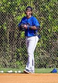 PORT ST. LUCIE, FLORIDA - MARCH 24: New York Mets shortstop Jose Reyes returns to spring training wo