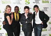 NEW YORK - APRIL 21: Cameron Diaz, Eddie Murphy, Mike Myers and Antonio Banderas attend TriBeCa Film