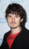 NEW YORK - JUNE 2:  Orlando Bloom speaks at the 2010 Adam Jeffrey Katz Memorial Series Lecture Serie