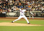 FLUSHING - JUNE 23: New York Mets relief pitcher Francisco Rodriguez throws against the Detroit Tige