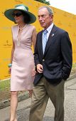 NEW YORK - JUNE 26: Mayor Bloomberg attends the Veuve Clicquot Polo Classic at Governor's Island on