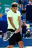 FLUSHING, NY - AUGUST 28: Tennis pro Rafael Nadal of Spain attends Arthur Ashe Kids' Day at the Billie Jean King National Tennis Center on August 28, 2010 in Flushing, New York.