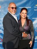 FLUSHING, NY - AUGUST 30: Emilio Estefan and Gloria Estefan arrive at the 2010 US Open Tennis Openin