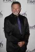 New York 6. Dezember: Komiker Robin Williams beachtet das Gesicht des Tisch-Gala in Frederick p. Ro