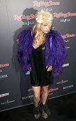 HOLLYWOOD, CA. - NOV 21: Ke$sha arrives at the 2010 American Music Awards Rolling Stone Magazine VIP