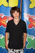 LOS ANGELES - MAY 14:  Leo Howard at the Disney ABC Television Group May Press Junket 2011 at ABC Building on May 14, 2011 in Burbank, CA
