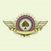 Spades Suit Emblem