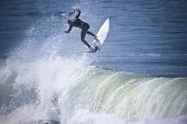 Surfer Airs Out
