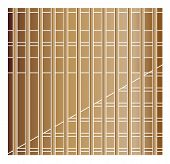 copper squares shape background vector