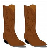 picture of vaquero  - cowboy boots - JPG