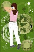 grunge golfing
