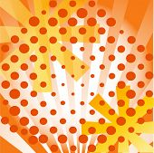 funky background design vector