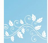 foliage with coils vector