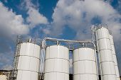 Factory Storage Tanks