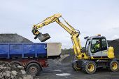 stock photo of jcb  - digger - JPG