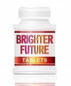 Brighter Future Concept.