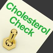 Cholesterol Check Switch As Check For Hdl Level