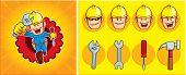 repairman mascot