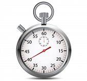 Stopwatch. Vector