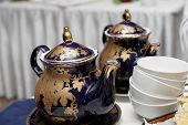 The Patterned Teapots