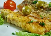 Italian-american Baked Sole Fillet poster