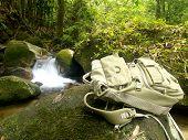 Hiker'S Traveller Backpack poster