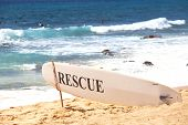 rescue post on Hawaii