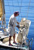 Yachtsman On The Board