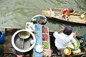 Floating Market Boat Noodle