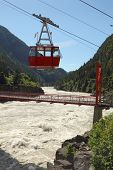 Fraser River Cable Car, British Columbia