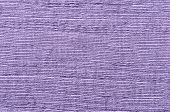 Close Up Purple Striped Linen Background