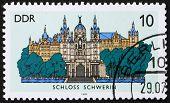 Postage Stamp Gdr 1986 Schwerin Castle, Schwerin, Germany