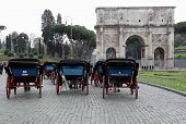 Carriages In Rome