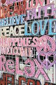peace love and happiness signs