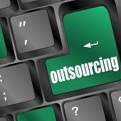 Outsourcing Key On Laptop Keyboard