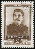 Carimbo com Stalin