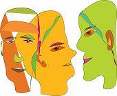 people, portrait, head,