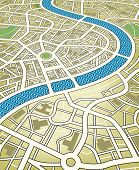 Mapa da cidade