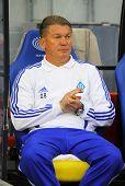 Fc Dynamo Kyiv Manager Oleg Blokhin