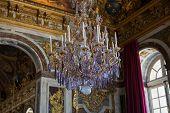 luster in Ch�teau de Versailles, France