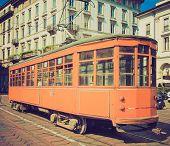 Vintage Tram, Milan
