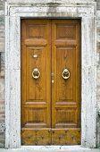 Old Wooden Door.