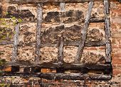 Old Half-timbered Wall
