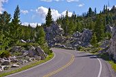 Wyoming Mountain Road