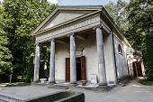 Diana's Temple In Arkadia
