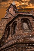 picture of evangelism  - Old Evangelical Methodist Church in city center of Poznan - JPG