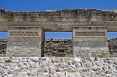 Ruins Of A Pre-columbian Palace In Mitla, Mexico