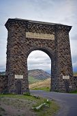 Yellowstone Stone Gate