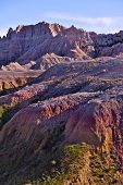 Badlands Pinnacles And Buttes